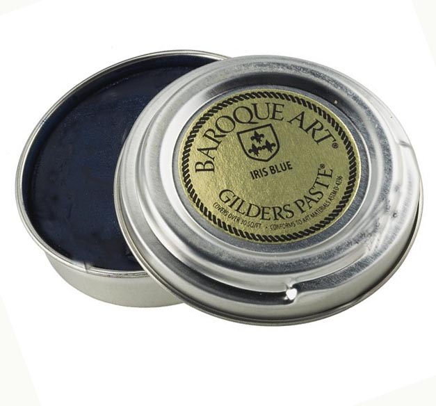 Iris Blue (deep blue)  Baroque Art Gilders Paste 1.5 oz 30 ml