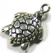 11mm x 9mm Lucky Turtle Charm D08