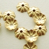 5mm x .7mm Gold Filled Tiny Round Beadcap 50pcs/pk GC03
