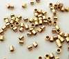 1mm 14k Gold Filled Tiny Tubes Micro Crimp Beads (300pcs/pk)