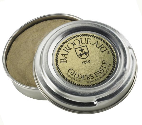 Gold Baroque Art Gilders Paste 1.5 oz  30 ml