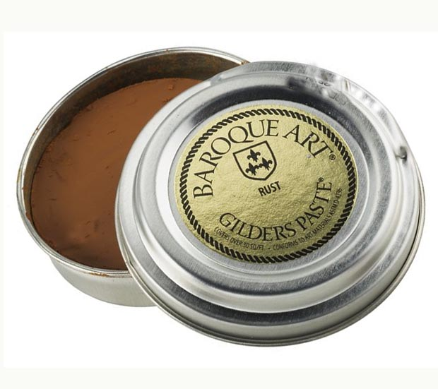 Rust (brown with slight orange tone) Baroque Art Gilders Paste 1.5 oz  30 ml