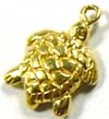 11mm x 9mm Lucky Turtle Charm VD10